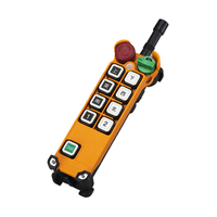 Industrial 9 Buttons Wireless Single Speed Crane Remote Control