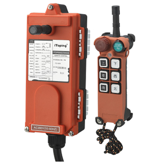 Single Speed Wireless Hoist Crane Control F21-E1B